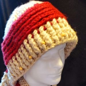 Accessories - Hand Crafted Beaded Jayne Cobb Hat/Scarf Set